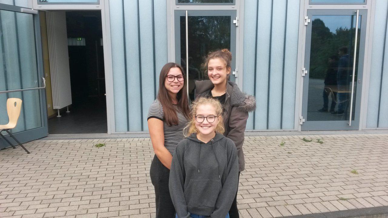 Schülersprecherin: Julia Güde Stellvertreterinnen: Sophie Quandt, Johanna Daniel