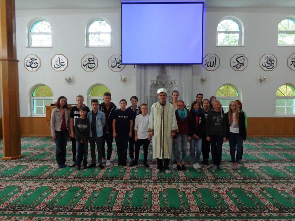 Exkursion zur Fatih-Moschee