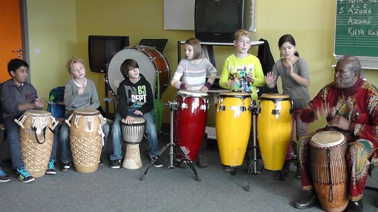 Trommel-Workshop 2015